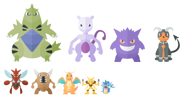 Mewtwo counter tiers (including non-best movesets)