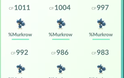 Lugia Killed by an Army of Murkrows