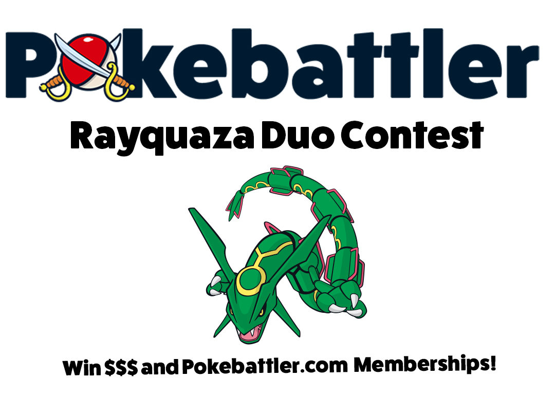 Rayquaza Duo Challenge: We have winners!