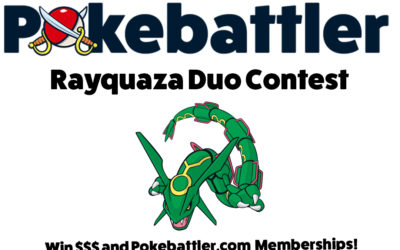 Rayquaza Duo Challenge: Main Contest Winner, Hardcore Challenge is still on!