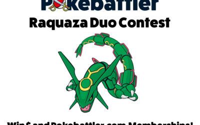 New Contest! Rayquaza Duo Challenge