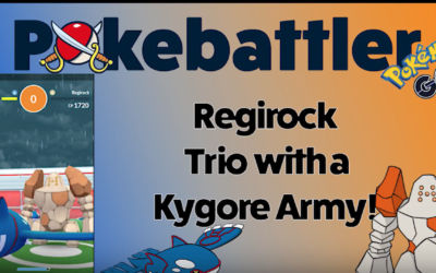World's First Regirock Trio Analysis