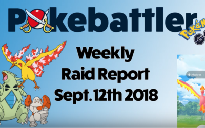 Weekly Raid Report Sept 12th