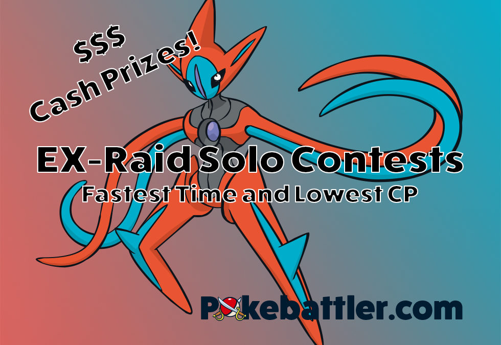 Contest Winners and Additional Pokebattler EX Raid Contests!