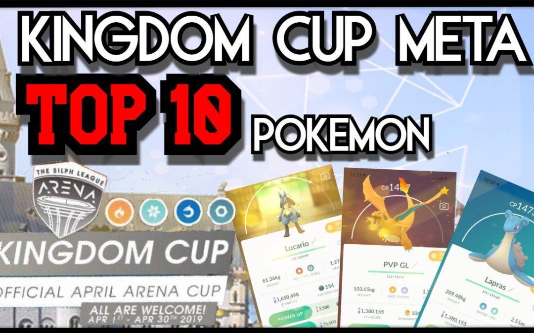 The Kingdom Cup META |Kingdom Cup| Pokemon Go PvP | Pokebattler