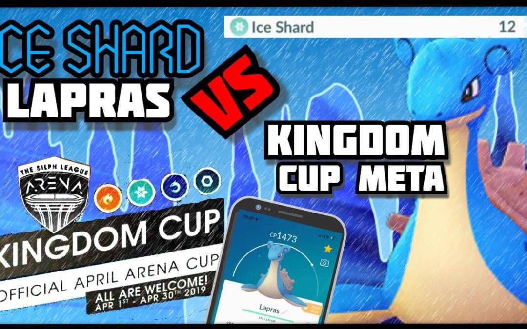 ICE SHARD LAPRAS IS OP IN KINGDOM CUP!! | Kingdom Cup | Pokemon Go PvP