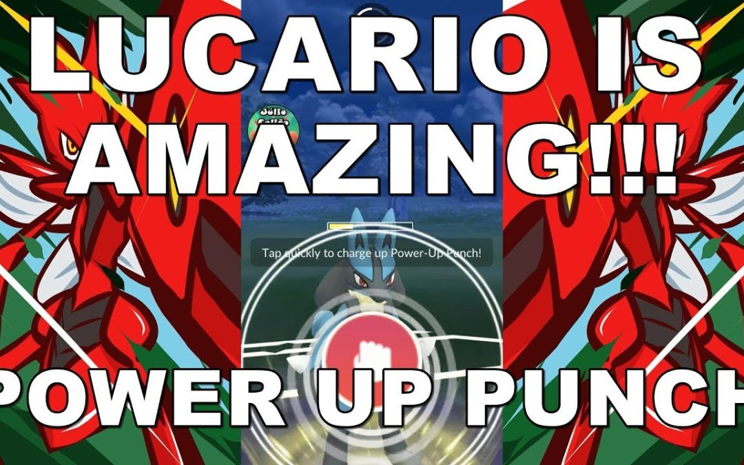 Lucario Is Amazing (Power-Up Punch Update) In Ultra League!