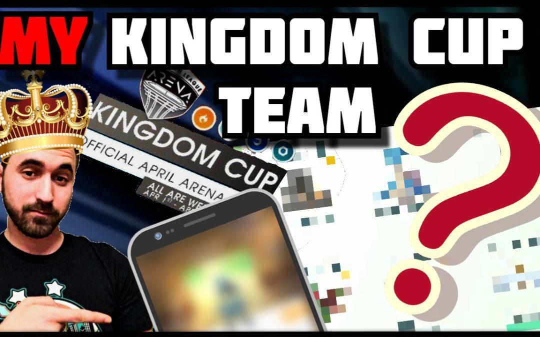 My Kingdon Cup Team |Kingdom Cup| Pre Tournament Prep| Pokemon Go PvP