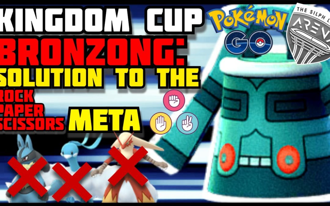 THE ANSWER TO THE KINGDOM CUP META | BRONZONG | POKEMON GO PvP