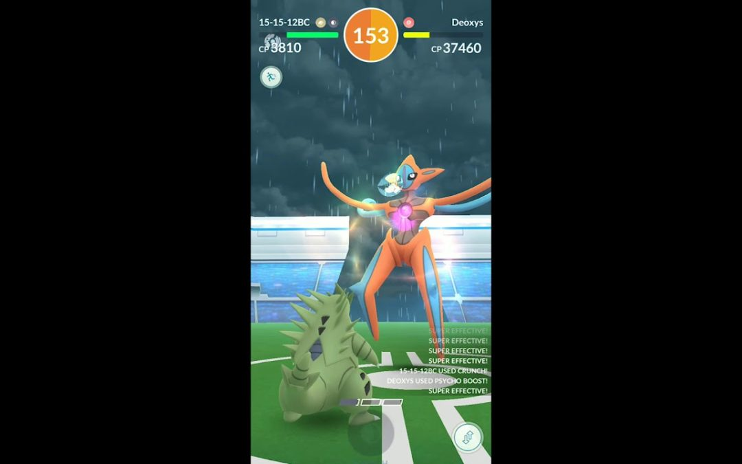 Deoxys Contest Winners Round 2 Lowest CP & Fastest Time