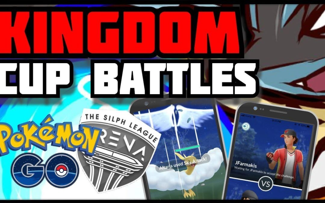 KINGDOM CUP BATTLES! |No Commentary| Pokemon Go PVP
