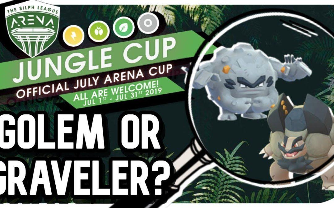 A. Golem OR A. Graveler?| Jungle Cup | Pokemon Go PVP