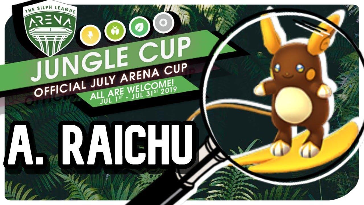 Deep Dive Into Alolan Raichu | Jungle Cup | Pokemon GO PVP