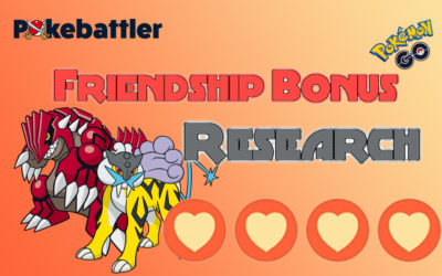 New Higher Friendship Bonus Research Results!