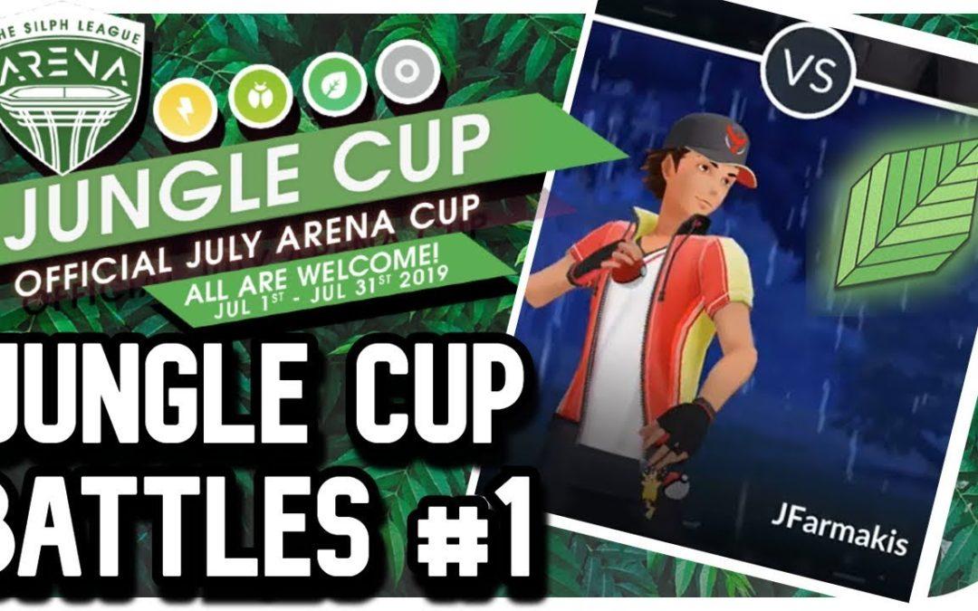 Jungle Cup Battles | Jungle Cup | Pokemon Go PvP