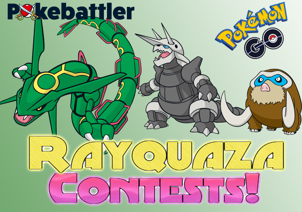 New Rayquaza Contests!
