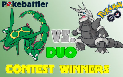 Rayquaza Aggron Only Duo Contest Winners 2019!!