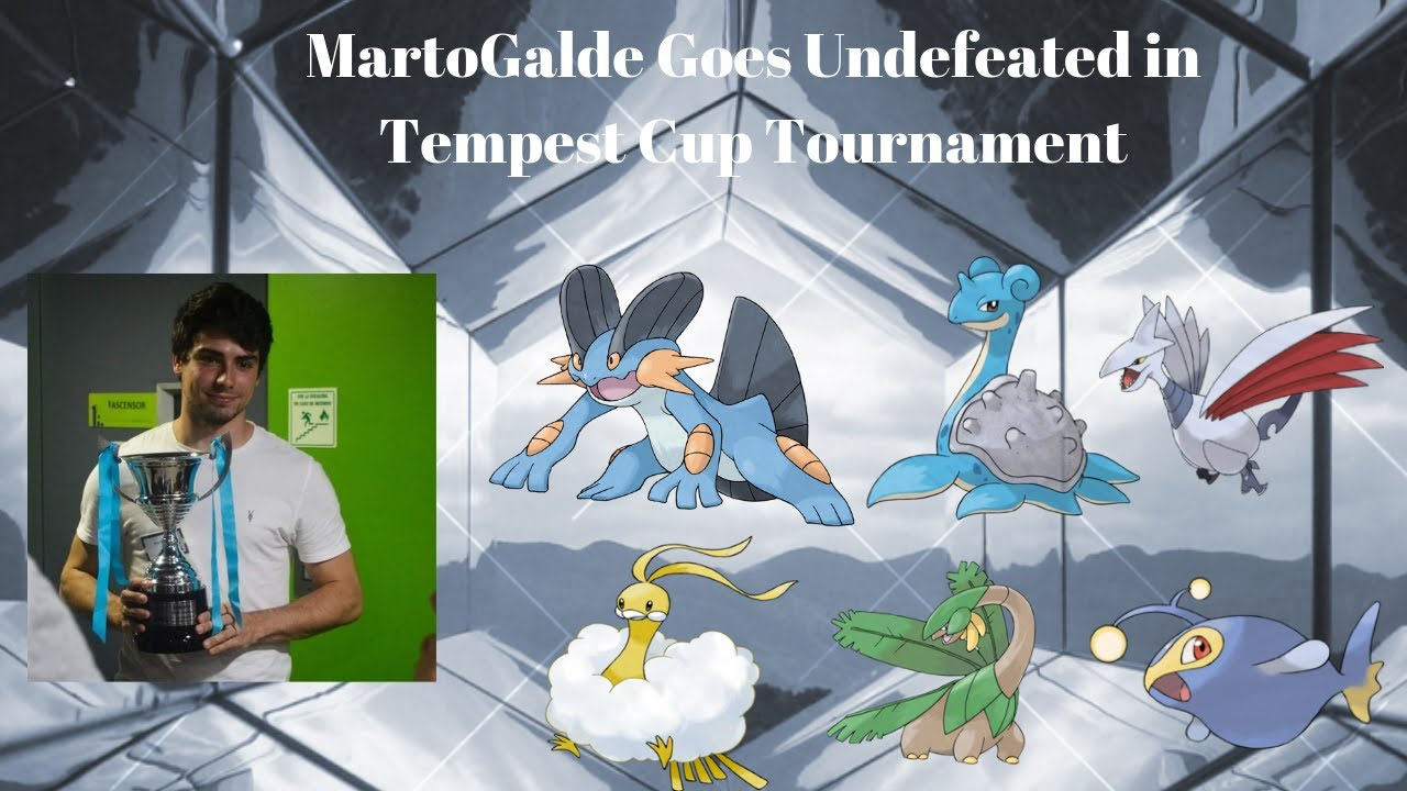 MartoGalde (Rank #32) Dominates Tempest Cup