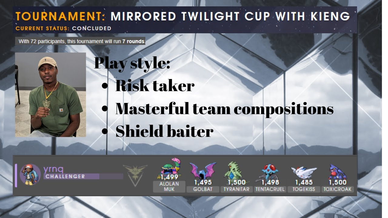 YNRQ Masterful Twilight Cup Play