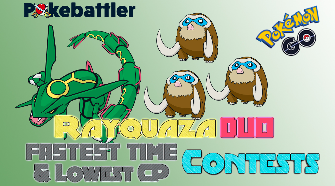 Rayquaza Duo Contest Winners for 2019