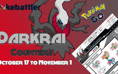 Pokebattler's Comprehensive Darkrai Raid Guide!