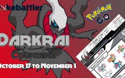 Pokebattler's Comprehensive Darkrai Raid Guide! [Tier 6]
