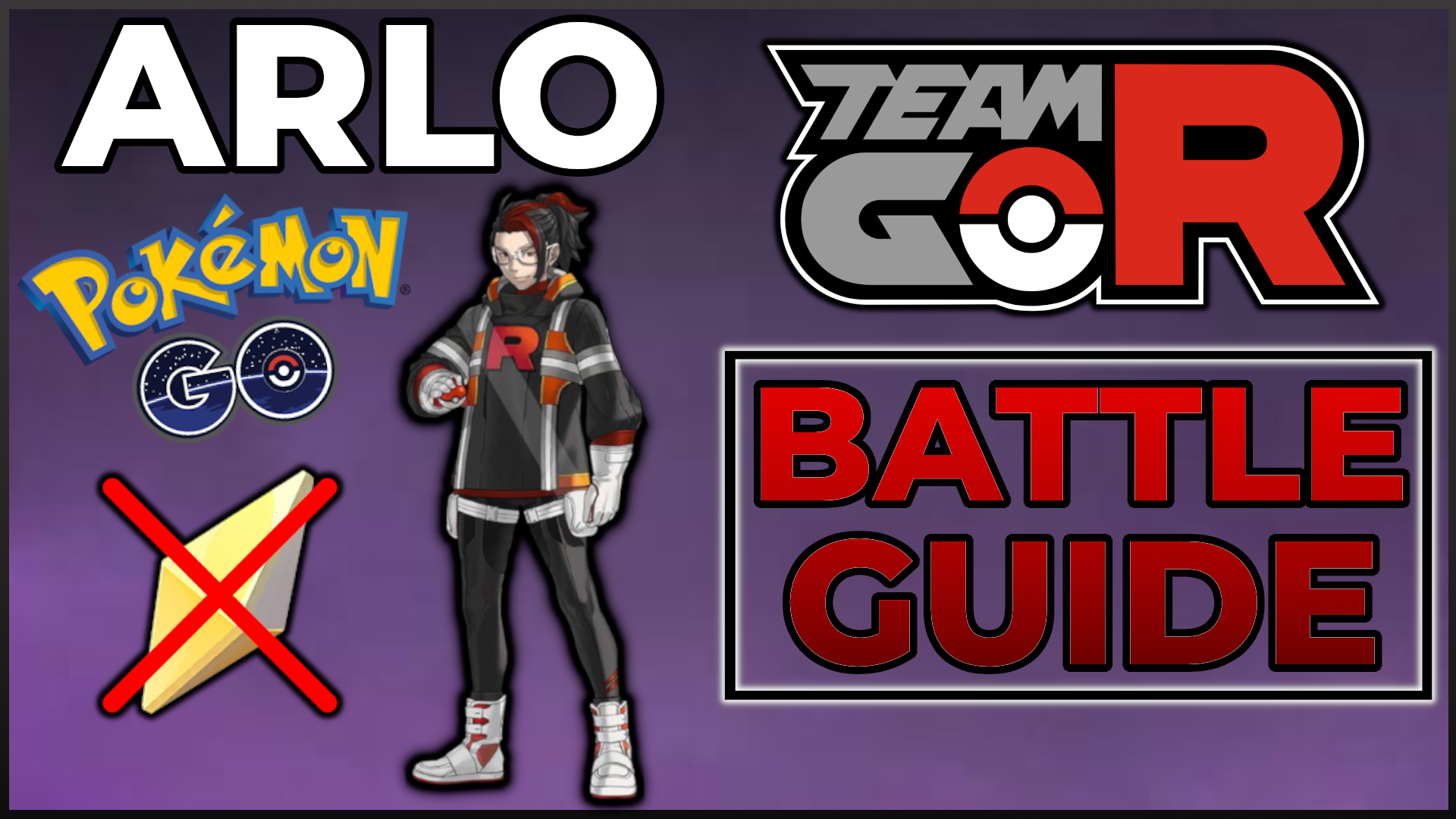 How to Beat ARLO from Team Go Rocket with ease!