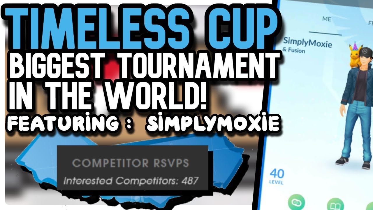 BIGGEST TIMELESS CUP IN THE WORLD! | FT. SimplyMoxie | Pokemon GO PVP