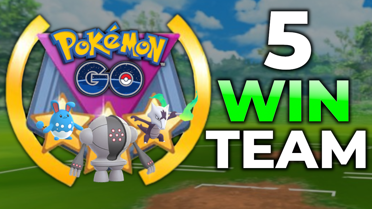 5 WINS IN A ROW FOR GO BATTLE LEAGUE – GREAT LEAGUE | POKEMON GO PVP