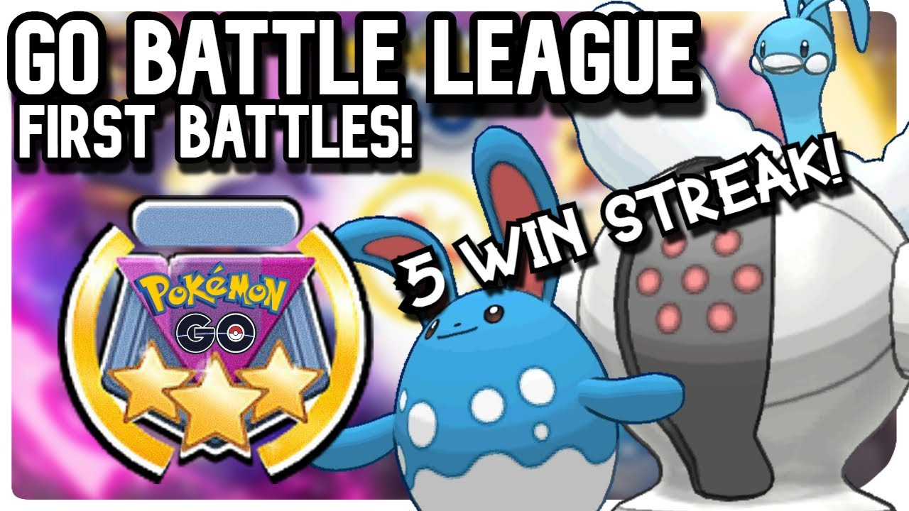 GO BATTLE LEAGUE: FIRST BATTLES | POKEMON GO PVP