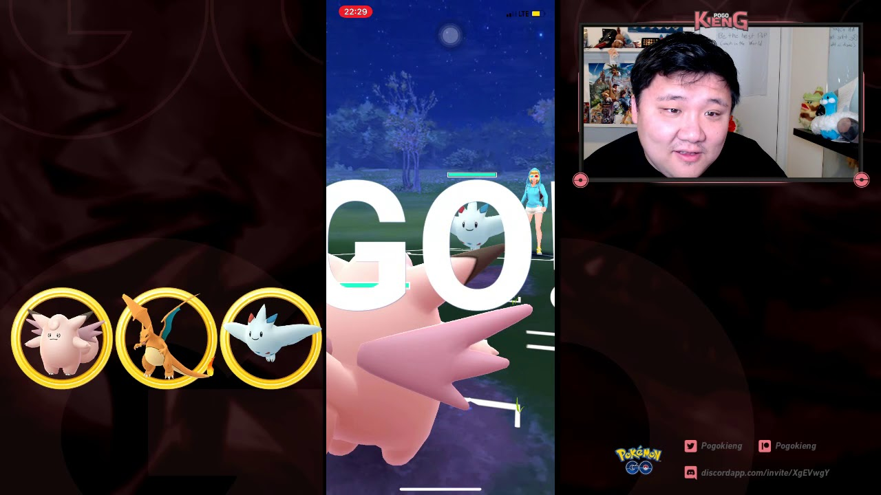 CCOFTW Wins with Double Charmers at 3600+ | Go Battle League