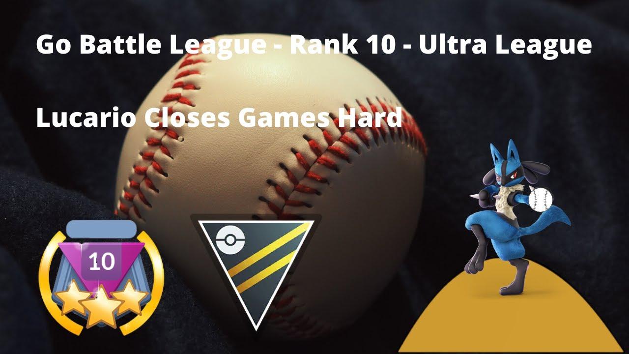 Lucario is a Strong Closer   Go Battle League