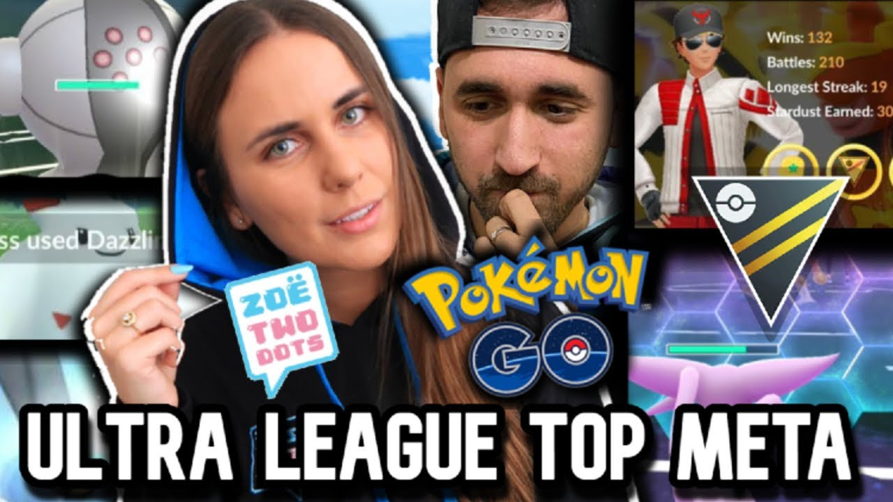 Ultra League TOP META GUIDE + BATTLES for GO Battle League in Pokémon GO with ZoeTwoDots!