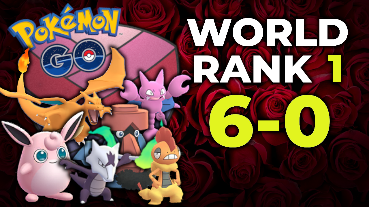 VENTUSKI SWEEPS ROSE CUP TO BECOME WORLD RANK 1 IN THE SILPH ARENA | POKEMON GO PVP