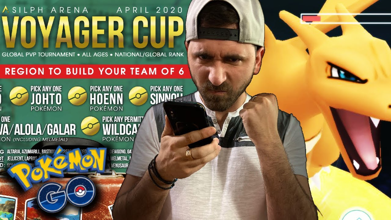 FIRST VOYAGER CUP BATTLES! : Pokemon GO