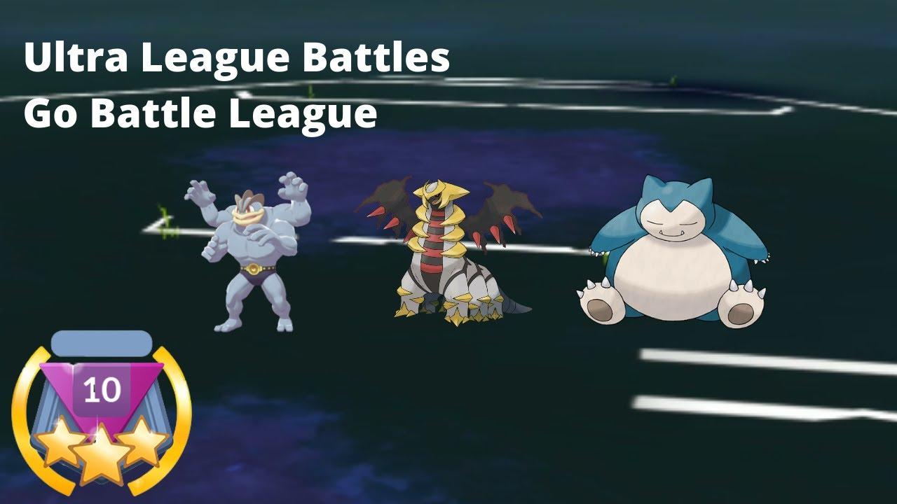 YRNTrainerQ Flexes with Machamp in Ultra League | Go battle League