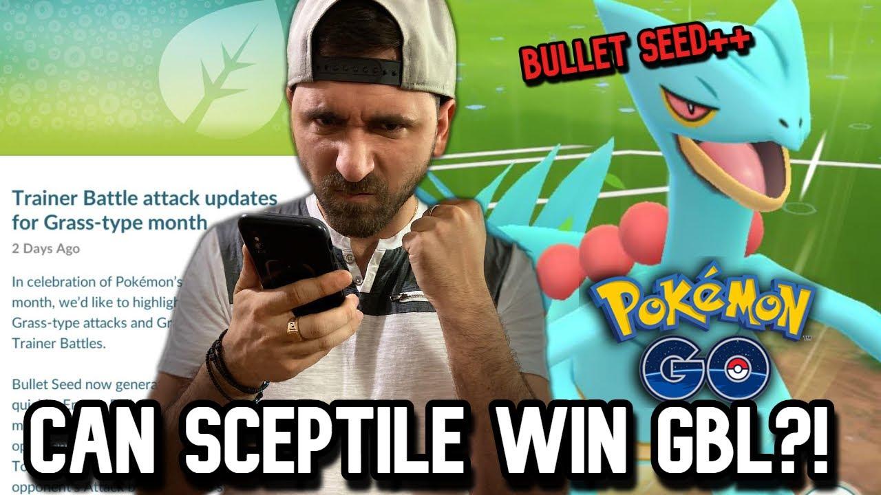 BULLET SEED SCEPTILE IN GBL | Pokemon GO
