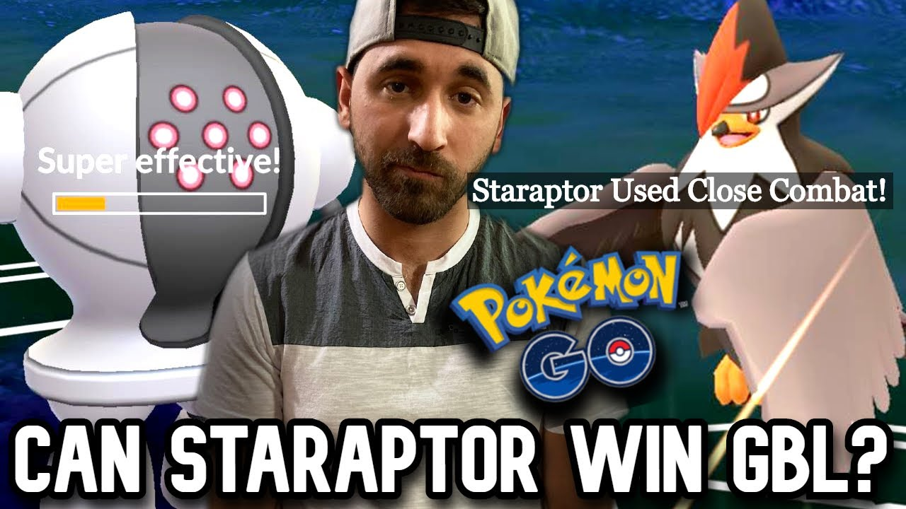 Can STARAPTOR win GO BATTLE LEAGUE? | Pokemon GO