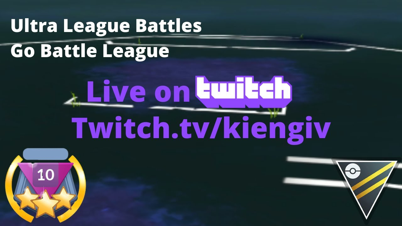Live Stream Ultra League Battles | Trying Lots of New Teams | Go Battle League