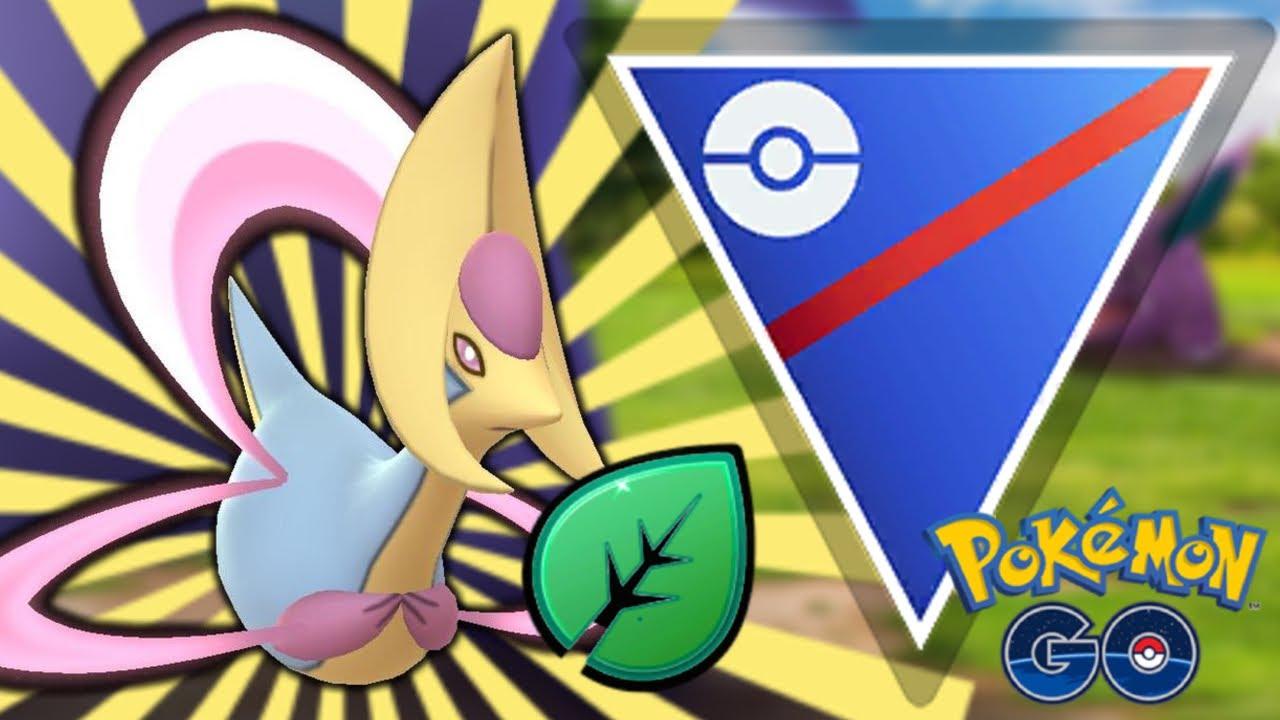 GRASS KNOT CRESSELIA IN GO BATTLE LEAGUE! | Pokemon GO
