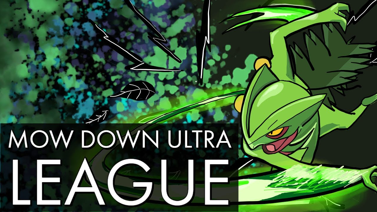 MOW DOWN ULTRA LEAGUE WITH SCEPTILE | GO BATTLE LEAGUE