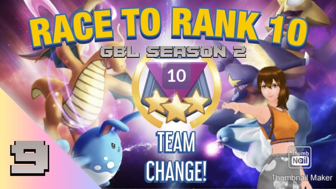 POKEMON GO BATTLE LEAGUE SEASON 2: RACE TO RANK 10 ep #9 (great league)