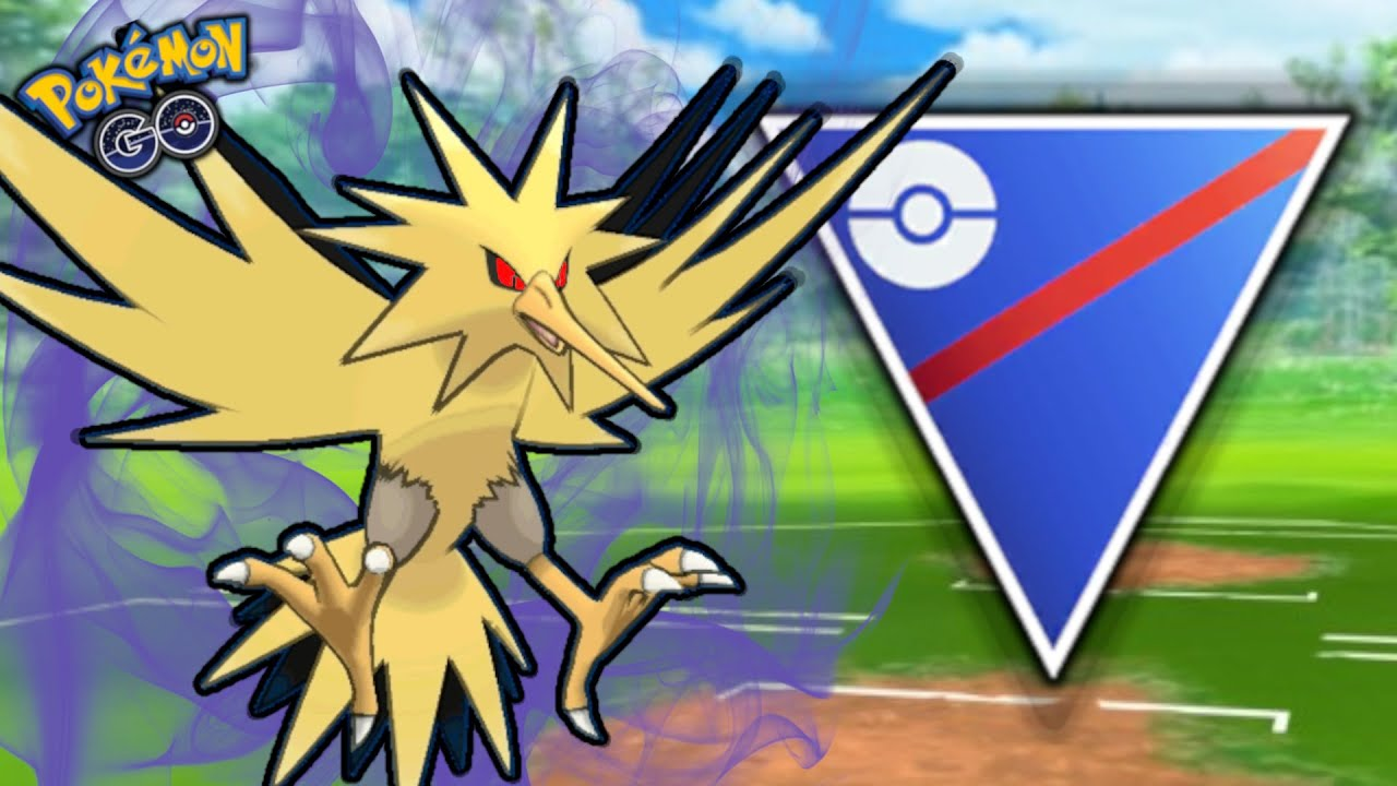 SHADOW ZAPDOS IS AN ABSOLUTE WRECKING BALL | POKEMON GO BATTLE GREAT LEAGUE PVP