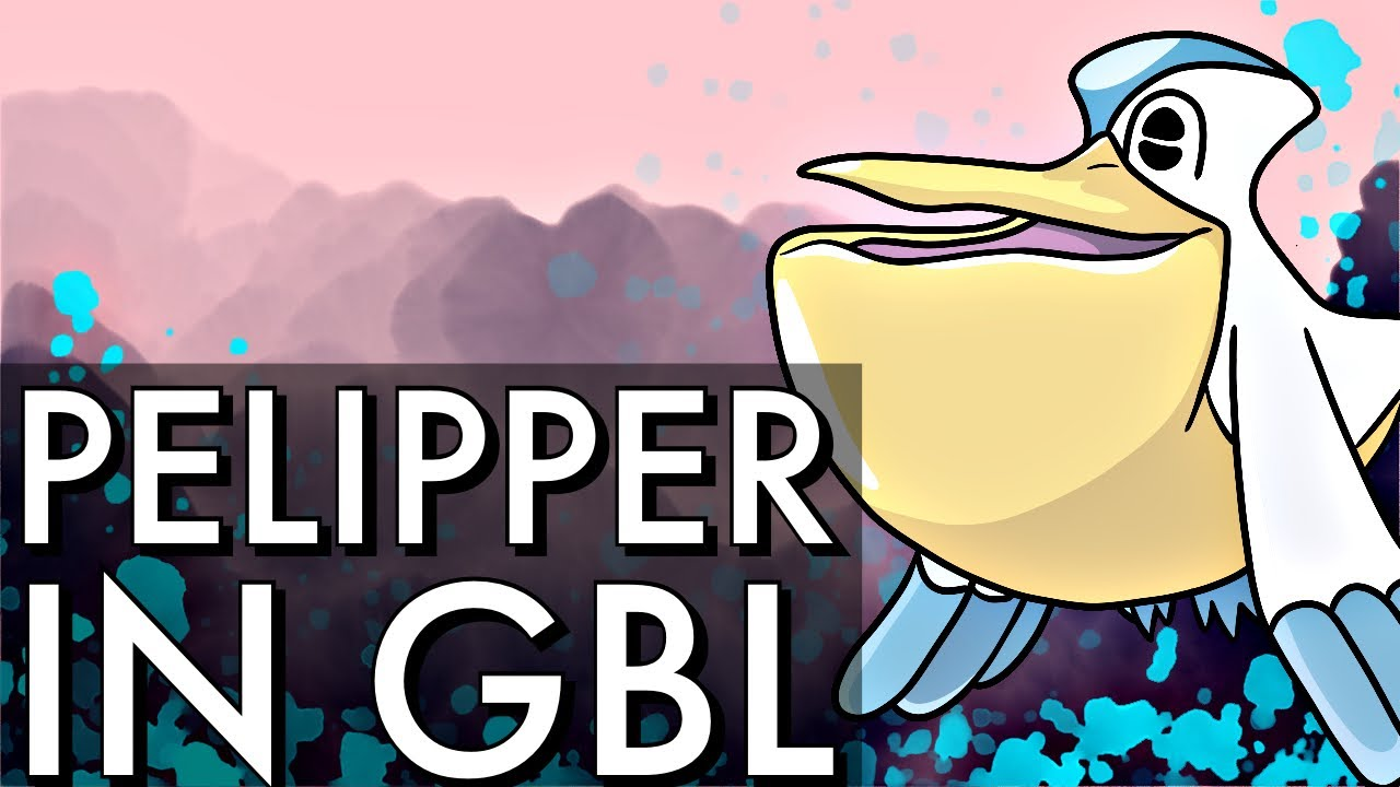 PELIPPER FLIES AND SWOOPS UP THE GREAT LEAGUE META