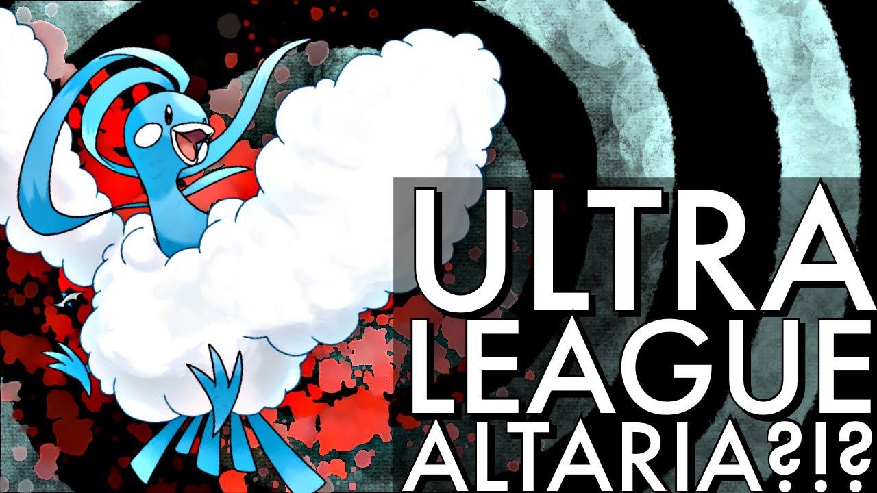 ULTRA LEAGUE ALTARIA?!? | GO BATTLE LEAGUE