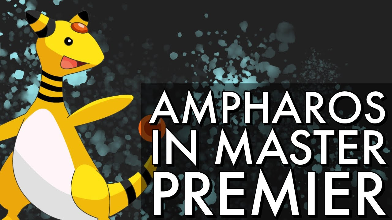 AMPHAROS IN MASTERS PREMIER??? | GO BATTLE LEAGUE