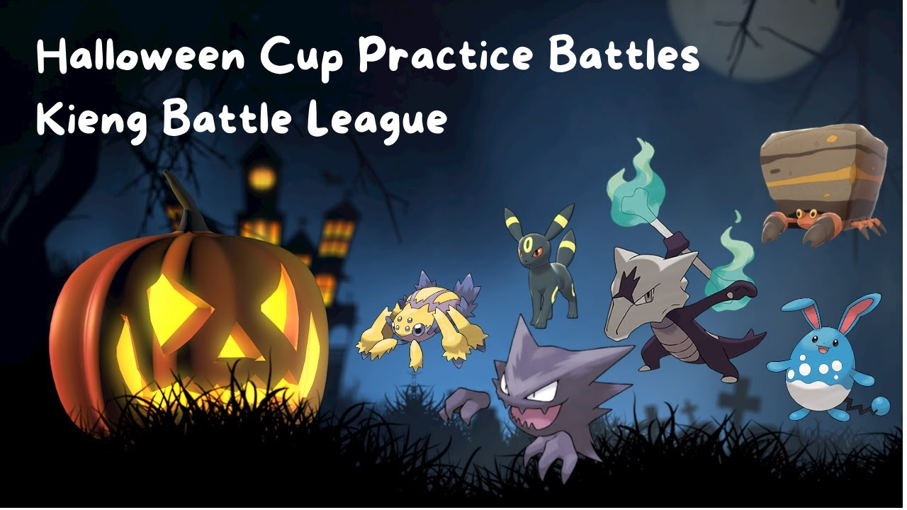 HALLOWEEN CUP PRACTICE BATTLES | KIENG BATTLE LEAGUE