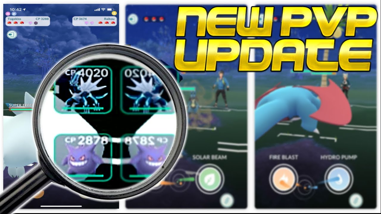 THE BIGGEST UPDATE TO POKEMON GO TRAINER BATTLES! | Pokémon GO Battle League