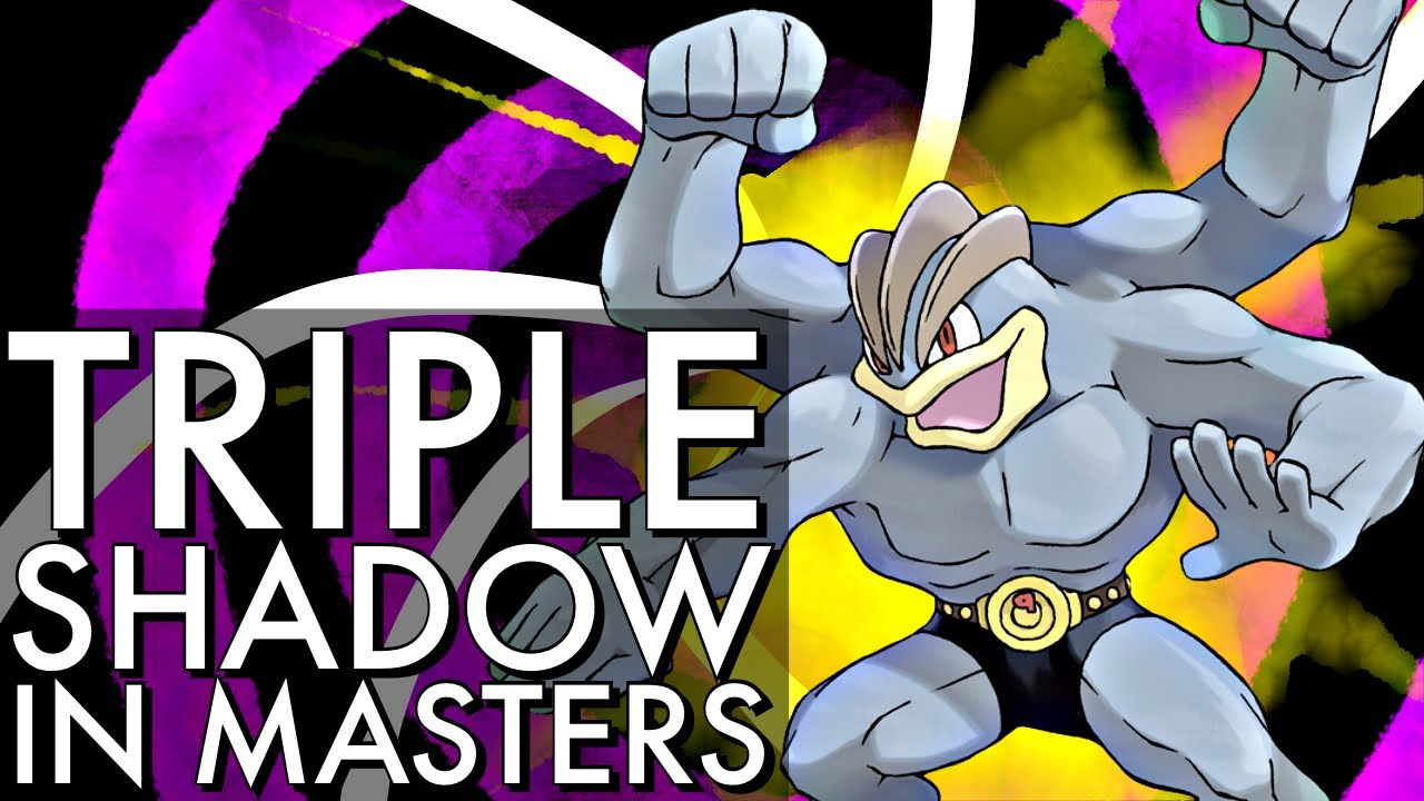 TRIPLE SHADOW MASTER PREMIER TEAM | GO BATTLE LEAGUE