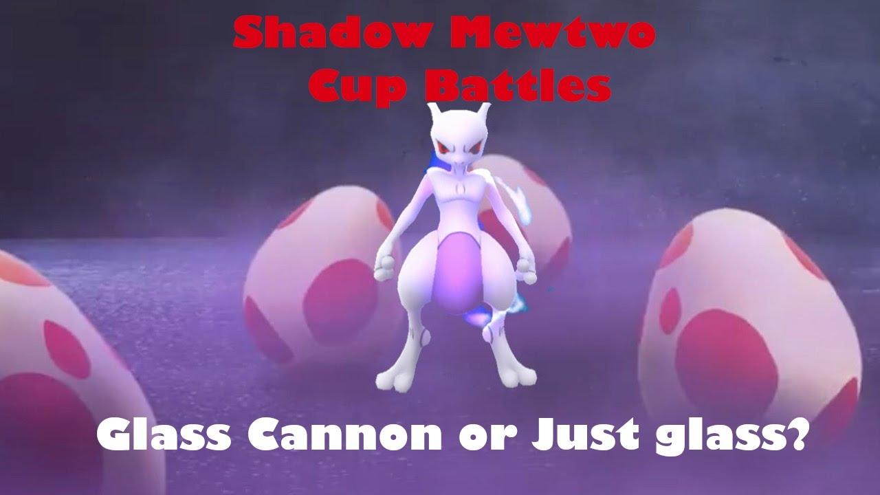 SHADOW MEWTWO KANTO CUP BATTLES | GO BATTLE LEAGUE ...